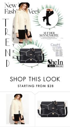 """""""SheIn 2/10"""" by amrafashion ❤ liked on Polyvore featuring Agave"""