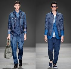 G-Star RAW 2014 Spring Summer Mens Runway Collection - New York Fashion Week - 25th anniversary Type C Elwood Faeroes Lumber Pant US First W...