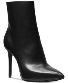 0a1de97b999 Michael Kors Leona Booties & Reviews - Boots - Shoes - Macy's. Brede Kuit  LaarzenZwarte ...