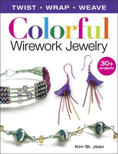Wire jewelry with a colorful twist. $21.99