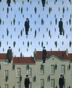 René Magritte – was a Belgian surrealist artist. He became well known for a number of witty and thought-provoking images that fall under the umbrella of surrealism. Magritte's work. Rene Magritte Kunst, Magritte Paintings, Illustration Arte, Kunst Online, Surreal Art, Art Plastique, Oeuvre D'art, Art History, Modern Art