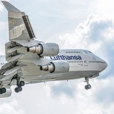 Lufthanse Boeing 747-400