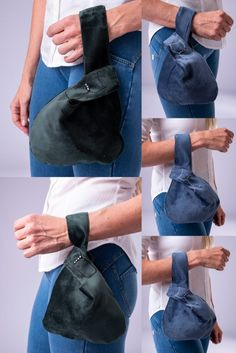 Limited edition velvet knotbags handmade with love for you to enjoy