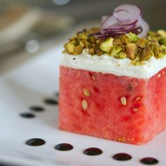 Stacked Watermelon Salad
