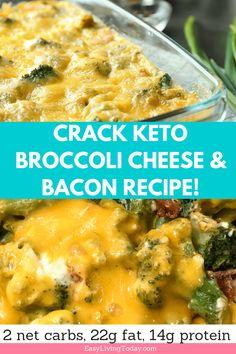 Crack Keto Broccoli and Cheese Recipe! #broccoliandcheese