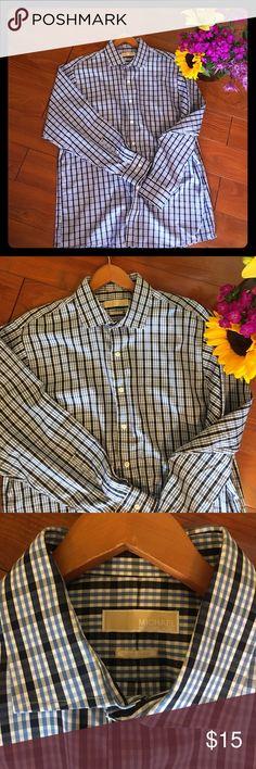 MICHAEL KORS Men's Non-Iron shirt 17 1/2 34/35 MICHAEL KORS Michael Men's Non-Iron shirt 17 1/2 34/35. Never worn. Excellent!  Fast shipping!! MICHAEL Michael Kors Shirts Dress Shirts