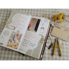#midoritravelersnotebook #travelersnote #midori #travelersnotebook #diary #stamp…