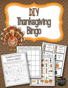 Christmas bingo 25 different bingo cards christmas pinterest thanksgiving diy bingo do it yourself from busy me plus three on teachersnotebook solutioingenieria Choice Image