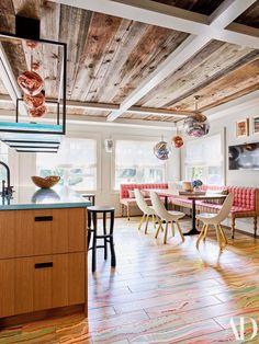 Inside Robert Downey Jr.'s Playful Hamptons Home Photos | Architectural Digest