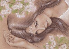 The Goddess of Spring Awakens by Carye on Etsy