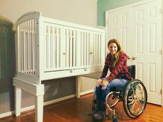 Making Baby's Crib Accessible for Parents in Wheelchairs – PUSH LIVING STORE