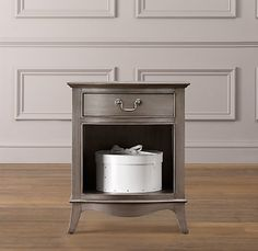 RH Baby & Child's Nightstands & Side Tables:Kids nightstands and side tables from Restoration Hardware Baby & Child. Kids Furniture, Bedroom Furniture, Luxury Nursery, Restoration Hardware Baby, Bedroom Night Stands, Room Interior Design, Rug Sale, Home Furnishings, Nightstands