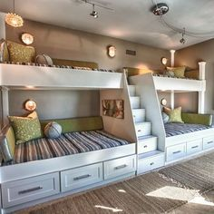 Bunk beds are a grea