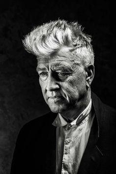 Black and White Photography Portrait of David Lynch by Michael Muller David Lynch, Black And White Portraits, Black And White Photography, Ansel Adams, Renoir, Tv Movie, Design Editorial, Photo Star, Wax Lyrical