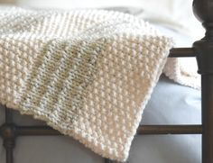 Easy knit blanket pattern knit throw pattern easy heirloom etsy knitted pattern anyone should learn crochetbeja knitted pattern anyone should learnoutlander knitting patterns easy scarf knitting patterns baby sweater knitting pattern Knitted Throw Patterns, Knitted Blankets, Knitting Patterns, Crochet Patterns, Blanket Patterns, Knitting Projects, Big Yarn Blanket, Easy Knit Blanket, Blanket Stitch
