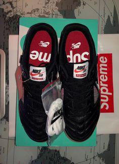 d8259b632c8 SUPREME x Nike SB Gato Black Gum Size 9 Limited AR9821-001  fashion