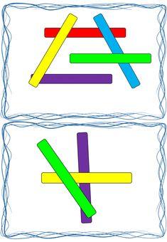Preschool Lesson Plans, Preschool Printables, Preschool Math, Montessori Activities, Activities For Kids, Anterior Y Posterior, Block Play, Working Memory, Second Grade Math