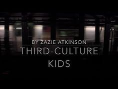 *TOP PICK*  THIRD CULTURE KIDS | A SHORT FILM (8.25 mins) by Zazie Bibi:  Though not as professional as some other topi picks, this one talks with only highly mobile, lifelong TCKs. The topics are familiar, but these young ladies articulate things unusually well, putting into words things that aren't usually expressed in quite that way. Worth watching whether you're a newcomer to this world or a veteran TCK.  [Pin by Heidi Tunberg, TCK Care, ReachGlobal]