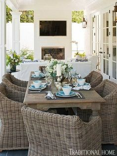 yep yep yep....for the patio is a great look as well as this dining room.