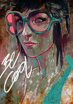illustrations by Aykut Aydoğdu, via Behance