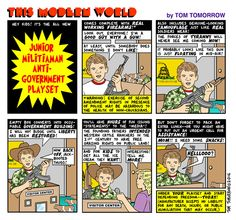 AlterNet Comics: Tom Tomorrow on the Junior Militiaman Anti-Government Play Set | Alternet