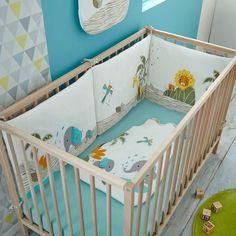 tour de lit bébé elephant tour de lit taupe motifs doudous animaux pour lit bébé 60 x120 ou  tour de lit bébé elephant