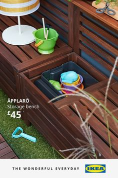 Plan your backyard escape with these garden ideas. From big to small spaces, we've got weather-proof garden storage, outdoor furniture and parasols for you to get creative with – as well as storing and caring tips for all your garden essentials. We could even help you build a garden kitchen or BBQ area. Outdoor Furniture Design, Garden Furniture, Garden Tools, Garden Ideas, Bbq Area, Outdoor Ideas, Potted Plants, Small Spaces, Ikea