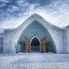 Hôtel de Glace in Québec City #HoteldeGlace #hiver #winter