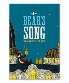 The Bear's Song Hardcover #zulily #zulilyfinds