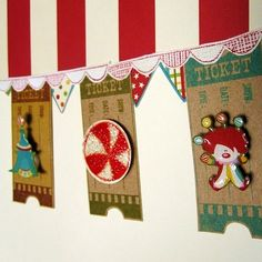cool inspiration for Carnival Party banner