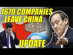 1670 companies leaving China with Japan's $ 4 billion support, The Chinese economy collapsed - YouTube