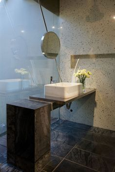 ... freestanding washbasin unit -  Staircase, Houses As Component Of House In The Himalayas By Rajiv Saini