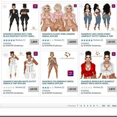 I will be #sharing some of my #favorite #stores #developers on #secondlife TOP FAVORITE DEVELOPERS! #SHAKIRA Ladies rush over to her store & join her FREE GROUP & ENJOY ALL HER FREE FITS!! She has many out in the store...Also look at her outfits for sale she has some sexy sexy stuff!! #secondlifefashion #virtualworld #virtualreality #sl #3dworld #games #gaming #mytopapps #instamood #imvu #instapic #avakin #followme #shakiras #gamingaddict #addme #ps4 #xbox #wiiu #thelastofus #gifs #l4l…