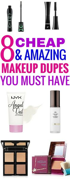 Makeup dupes that will save you lots of money.