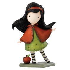 Beatrix Potter A26924 Figurina Gorjuss, Puccola Figurina Mela Rossa Resina, Lavabile a Manno, per 1 Anno, 10 cm