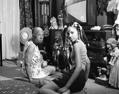 """""""LaToya Ruby Frazier: Born by a River"""" documents the private lives of the artist's family, who have lived in Braddock, PA for three generations. (Photo: LaToya Ruby Frazier)"""