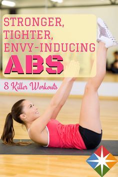 Every one of these workouts leaves my abs burning! LOVE