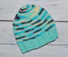 newborn boy hat - knit with 100% merino wool by SweetBabiesinYarn, $30.00