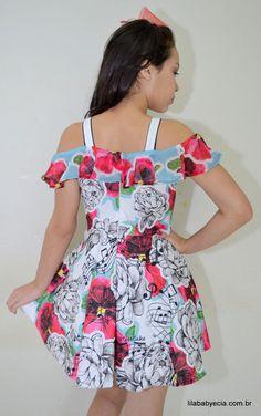 Vestido Infantil Miss Cake Moda Infanto Juvenil 510250