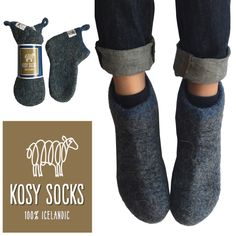 Home wool bootties for kids !