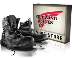 Red Wing Shoes are union-made!