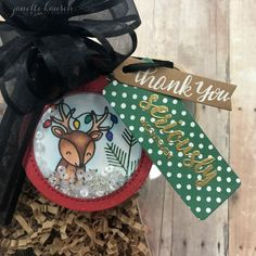 BRI #Hashtag Stamps Blog Hop | Janette Kausen  Details: Lawn Fawn with Cheery Christmas stamp set and Butterfly Reflection's Ink with #Hashtag and #Hashtag Bossy. MFT Shaker pouches.Reverse Confetti Clear Totes and In the Bag Confetti Cuts.   Follow Me on IG: https://www.instagram.com/janettekausen/    Follow Me on FB: https://www.facebook.com/creativeblisswithjanettekausen