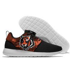 aeb9a75270e99 Off 15% NFL Football Men Women Running Shoes Sneaker Lightweight Cincinnati  Bengals Walking Cool Comfort