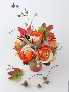 Candy Flowers, Crepe Paper Flowers, Diy Flowers, Paper Flower Arrangements, Diy And Crafts, Paper Crafts, Paper Bouquet, Paper Magic, 3d Paper