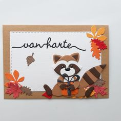 Racoon, Marianne Design, Altenew, Fall Cards, Penny Black, Fall Halloween, Craft Stores, Stamp, Crafts