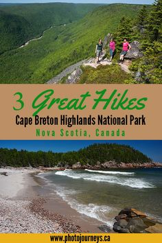 Three Great Hikes in Cape Breton Highlands National Park - Photo Journeys Parks Canada, Canada Eh, Adventure Is Out There, Adventure Time, Adventure Travel, Canada Day Fireworks, Nova Scotia Travel, Cabot Trail, Atlantic Canada