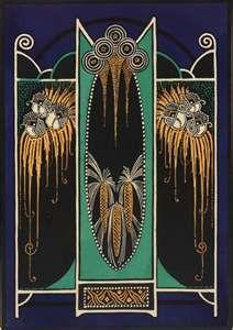 Art Deco artwork #zincdoor #artdeco #inspiration