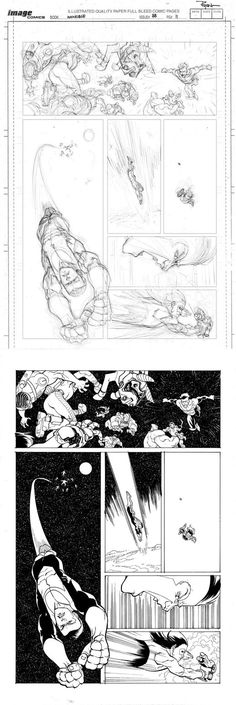 INV88 page 11 pencil to ink process by RyanOttley on deviantART