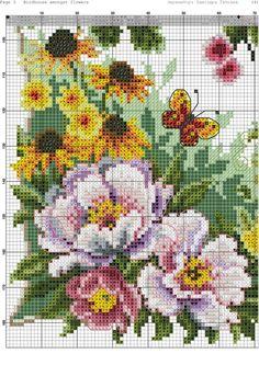 Cross Stitch House, Cross Stitch Angels, Butterfly Cross Stitch, Cross Stitch Cards, Cross Stitch Alphabet, Simple Cross Stitch, Cross Stitch Flowers, Cross Stitching, Cross Stitch Embroidery
