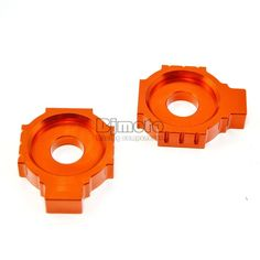 Rear Axle Spindle Chain Adjuster Blocks For KTM DUKE 125/200/390